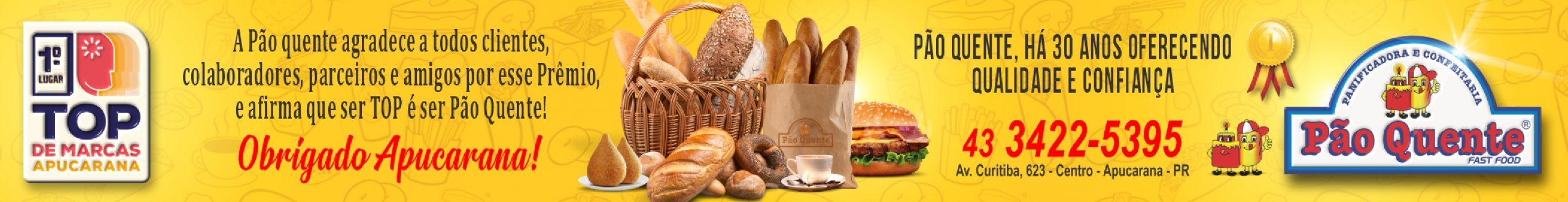 Pão Quente - Rodapé Alimentação