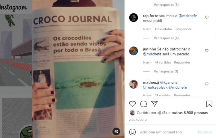 Público questiona a escolha da marca Lacoste no Brasil para a primeira campanha publicitária nas redes sociais